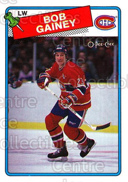 1988-89 O-Pee-Chee #216 Bob Gainey<br/>6 In Stock - $2.00 each - <a href=https://centericecollectibles.foxycart.com/cart?name=1988-89%20O-Pee-Chee%20%23216%20Bob%20Gainey...&quantity_max=6&price=$2.00&code=22243 class=foxycart> Buy it now! </a>