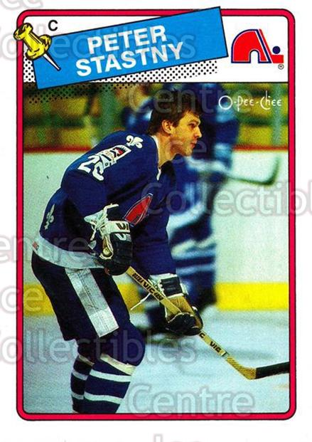 1988-89 O-Pee-Chee #22 Peter Stastny<br/>7 In Stock - $2.00 each - <a href=https://centericecollectibles.foxycart.com/cart?name=1988-89%20O-Pee-Chee%20%2322%20Peter%20Stastny...&quantity_max=7&price=$2.00&code=22247 class=foxycart> Buy it now! </a>