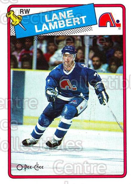 1988-89 O-Pee-Chee #224 Lane Lambert<br/>10 In Stock - $1.00 each - <a href=https://centericecollectibles.foxycart.com/cart?name=1988-89%20O-Pee-Chee%20%23224%20Lane%20Lambert...&quantity_max=10&price=$1.00&code=22251 class=foxycart> Buy it now! </a>
