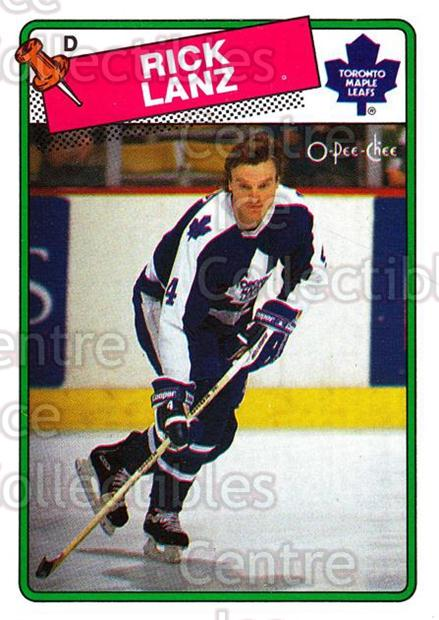 1988-89 O-Pee-Chee #225 Rick Lanz<br/>1 In Stock - $1.00 each - <a href=https://centericecollectibles.foxycart.com/cart?name=1988-89%20O-Pee-Chee%20%23225%20Rick%20Lanz...&quantity_max=1&price=$1.00&code=22252 class=foxycart> Buy it now! </a>