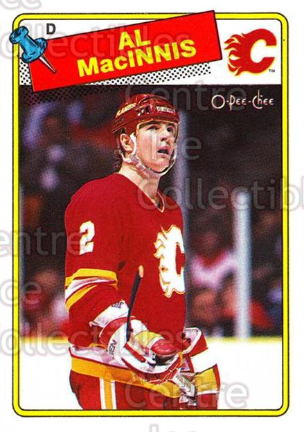 1988-89 O-Pee-Chee #231 Al MacInnis<br/>6 In Stock - $2.00 each - <a href=https://centericecollectibles.foxycart.com/cart?name=1988-89%20O-Pee-Chee%20%23231%20Al%20MacInnis...&quantity_max=6&price=$2.00&code=22259 class=foxycart> Buy it now! </a>