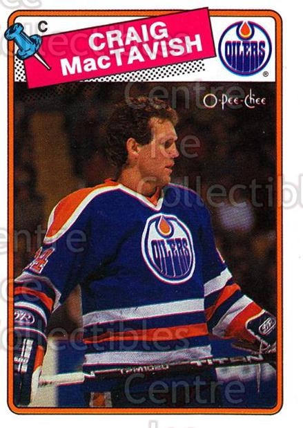 1988-89 O-Pee-Chee #232 Craig MacTavish<br/>9 In Stock - $1.00 each - <a href=https://centericecollectibles.foxycart.com/cart?name=1988-89%20O-Pee-Chee%20%23232%20Craig%20MacTavish...&quantity_max=9&price=$1.00&code=22260 class=foxycart> Buy it now! </a>