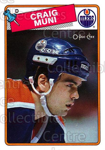 1988-89 O-Pee-Chee #236 Craig Muni<br/>10 In Stock - $1.00 each - <a href=https://centericecollectibles.foxycart.com/cart?name=1988-89%20O-Pee-Chee%20%23236%20Craig%20Muni...&quantity_max=10&price=$1.00&code=22264 class=foxycart> Buy it now! </a>