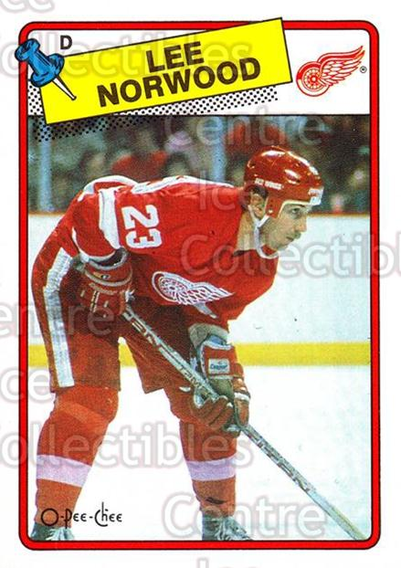 1988-89 O-Pee-Chee #240 Lee Norwood<br/>8 In Stock - $1.00 each - <a href=https://centericecollectibles.foxycart.com/cart?name=1988-89%20O-Pee-Chee%20%23240%20Lee%20Norwood...&quantity_max=8&price=$1.00&code=22269 class=foxycart> Buy it now! </a>