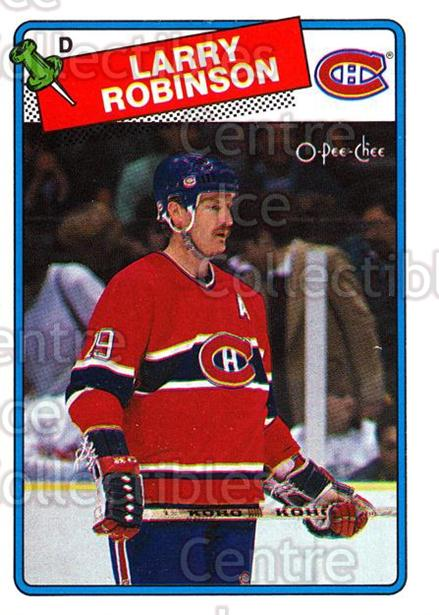1988-89 O-Pee-Chee #246 Larry Robinson<br/>7 In Stock - $2.00 each - <a href=https://centericecollectibles.foxycart.com/cart?name=1988-89%20O-Pee-Chee%20%23246%20Larry%20Robinson...&quantity_max=7&price=$2.00&code=22274 class=foxycart> Buy it now! </a>