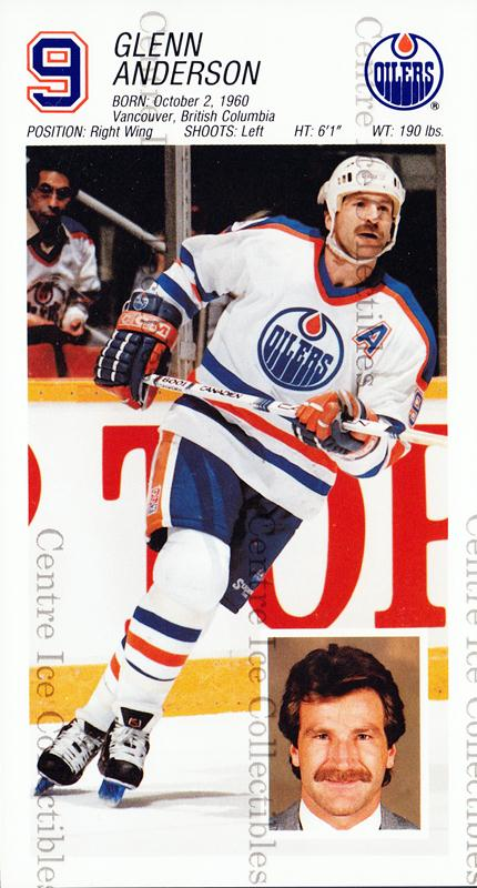 1988-89 Edmonton Oilers Team Issue #1 Glenn Anderson<br/>2 In Stock - $3.00 each - <a href=https://centericecollectibles.foxycart.com/cart?name=1988-89%20Edmonton%20Oilers%20Team%20Issue%20%231%20Glenn%20Anderson...&quantity_max=2&price=$3.00&code=22277 class=foxycart> Buy it now! </a>