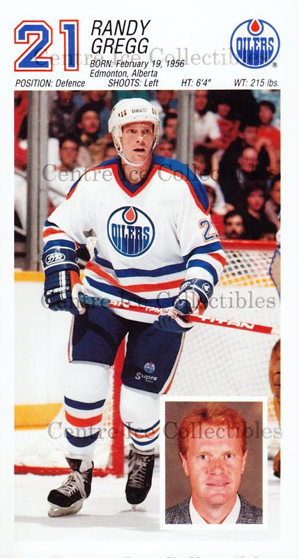 1988-89 Edmonton Oilers Team Issue #8 Randy Gregg<br/>2 In Stock - $3.00 each - <a href=https://centericecollectibles.foxycart.com/cart?name=1988-89%20Edmonton%20Oilers%20Team%20Issue%20%238%20Randy%20Gregg...&quantity_max=2&price=$3.00&code=22293 class=foxycart> Buy it now! </a>