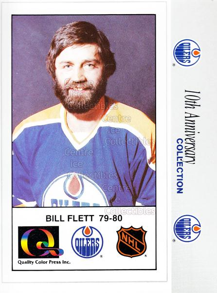 1988-89 Edmonton Oilers Tenth Anniversary #71 Bill Flett<br/>14 In Stock - $3.00 each - <a href=https://centericecollectibles.foxycart.com/cart?name=1988-89%20Edmonton%20Oilers%20Tenth%20Anniversary%20%2371%20Bill%20Flett...&quantity_max=14&price=$3.00&code=22380 class=foxycart> Buy it now! </a>