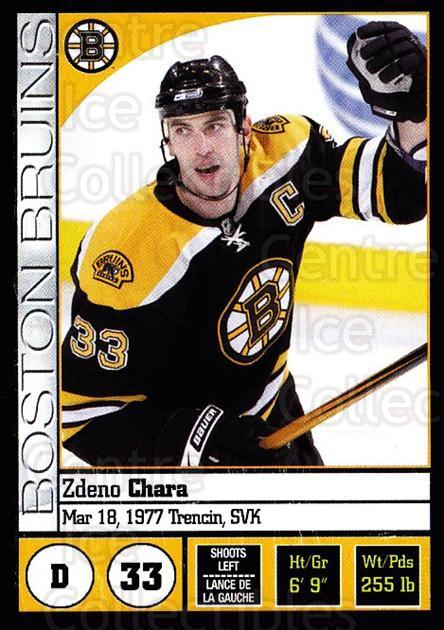 2008-09 Panini Stickers #12 Zdeno Chara<br/>4 In Stock - $1.00 each - <a href=https://centericecollectibles.foxycart.com/cart?name=2008-09%20Panini%20Stickers%20%2312%20Zdeno%20Chara...&quantity_max=4&price=$1.00&code=224037 class=foxycart> Buy it now! </a>