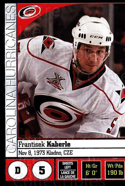 2008-09 Panini Stickers #30 Frantisek Kaberle<br/>3 In Stock - $1.00 each - <a href=https://centericecollectibles.foxycart.com/cart?name=2008-09%20Panini%20Stickers%20%2330%20Frantisek%20Kaber...&quantity_max=3&price=$1.00&code=224055 class=foxycart> Buy it now! </a>