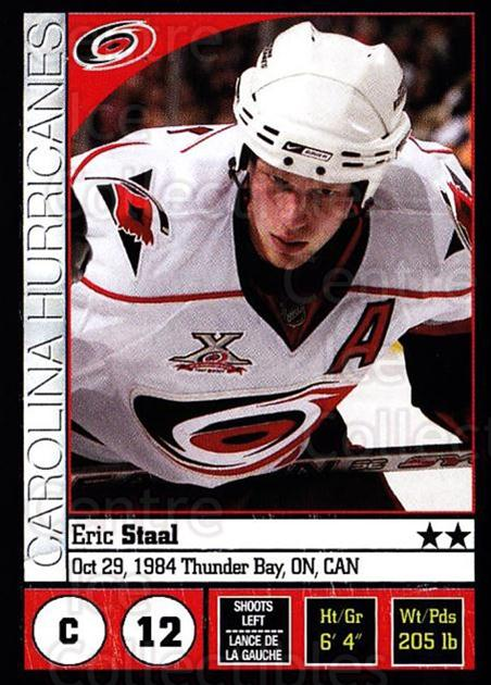 2008-09 Panini Stickers #34 Eric Staal<br/>6 In Stock - $1.00 each - <a href=https://centericecollectibles.foxycart.com/cart?name=2008-09%20Panini%20Stickers%20%2334%20Eric%20Staal...&quantity_max=6&price=$1.00&code=224059 class=foxycart> Buy it now! </a>