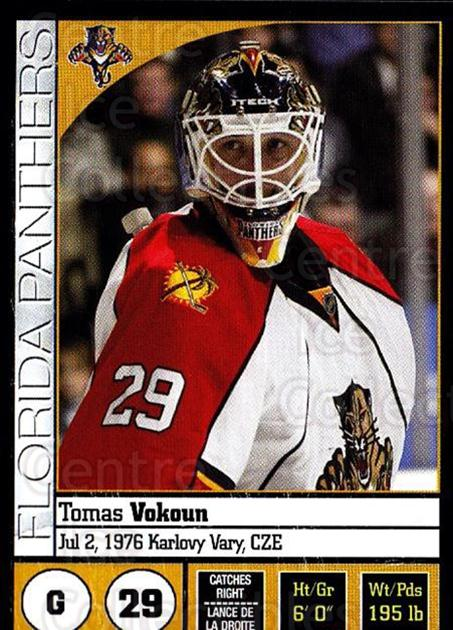 2008-09 Panini Stickers #38 Tomas Vokoun<br/>5 In Stock - $1.00 each - <a href=https://centericecollectibles.foxycart.com/cart?name=2008-09%20Panini%20Stickers%20%2338%20Tomas%20Vokoun...&quantity_max=5&price=$1.00&code=224063 class=foxycart> Buy it now! </a>