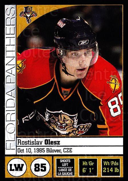 2008-09 Panini Stickers #40 Rostislav Olesz<br/>6 In Stock - $1.00 each - <a href=https://centericecollectibles.foxycart.com/cart?name=2008-09%20Panini%20Stickers%20%2340%20Rostislav%20Olesz...&quantity_max=6&price=$1.00&code=224065 class=foxycart> Buy it now! </a>