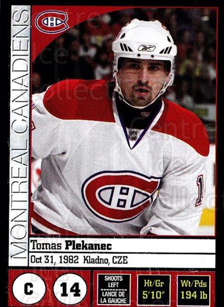 2008-09 Panini Stickers #50 Tomas Plekanec<br/>4 In Stock - $1.00 each - <a href=https://centericecollectibles.foxycart.com/cart?name=2008-09%20Panini%20Stickers%20%2350%20Tomas%20Plekanec...&quantity_max=4&price=$1.00&code=224075 class=foxycart> Buy it now! </a>