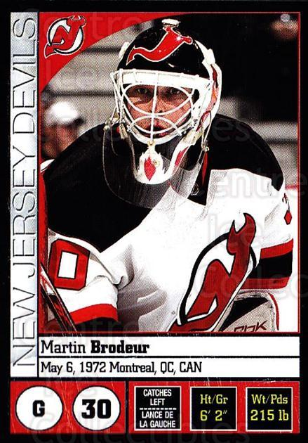 2008-09 Panini Stickers #56 Martin Brodeur<br/>5 In Stock - $2.00 each - <a href=https://centericecollectibles.foxycart.com/cart?name=2008-09%20Panini%20Stickers%20%2356%20Martin%20Brodeur...&price=$2.00&code=224081 class=foxycart> Buy it now! </a>