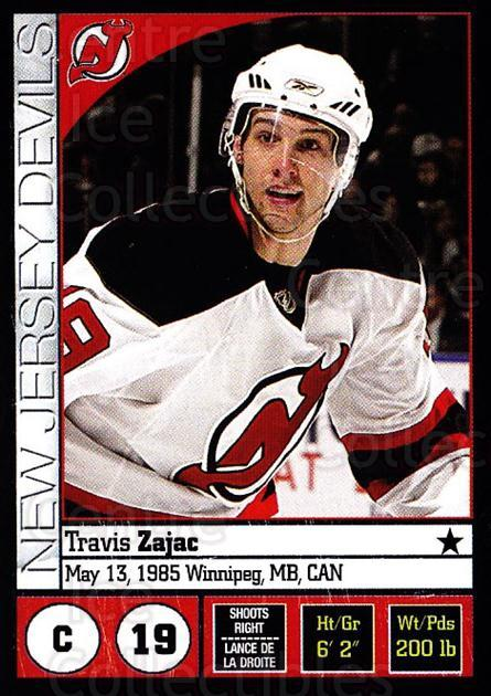 2008-09 Panini Stickers #63 Travis Zajac<br/>4 In Stock - $1.00 each - <a href=https://centericecollectibles.foxycart.com/cart?name=2008-09%20Panini%20Stickers%20%2363%20Travis%20Zajac...&quantity_max=4&price=$1.00&code=224088 class=foxycart> Buy it now! </a>