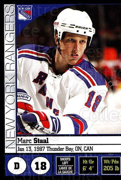 2008-09 Panini Stickers #77 Marc Staal<br/>5 In Stock - $1.00 each - <a href=https://centericecollectibles.foxycart.com/cart?name=2008-09%20Panini%20Stickers%20%2377%20Marc%20Staal...&quantity_max=5&price=$1.00&code=224102 class=foxycart> Buy it now! </a>