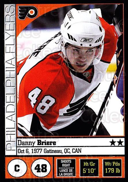 2008-09 Panini Stickers #97 Daniel Briere<br/>5 In Stock - $1.00 each - <a href=https://centericecollectibles.foxycart.com/cart?name=2008-09%20Panini%20Stickers%20%2397%20Daniel%20Briere...&quantity_max=5&price=$1.00&code=224122 class=foxycart> Buy it now! </a>