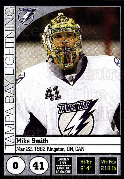 2008-09 Panini Stickers #110 Mike Smith<br/>4 In Stock - $1.00 each - <a href=https://centericecollectibles.foxycart.com/cart?name=2008-09%20Panini%20Stickers%20%23110%20Mike%20Smith...&quantity_max=4&price=$1.00&code=224135 class=foxycart> Buy it now! </a>