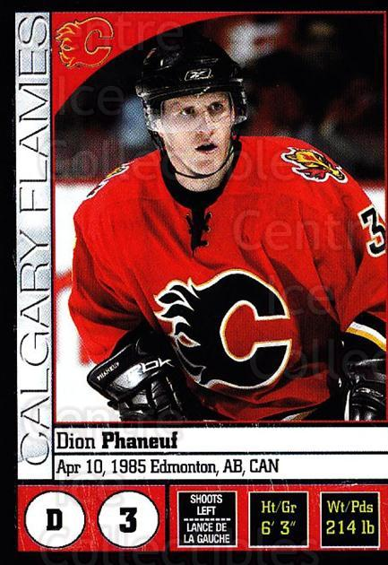 2008-09 Panini Stickers #147 Dion Phaneuf<br/>6 In Stock - $1.00 each - <a href=https://centericecollectibles.foxycart.com/cart?name=2008-09%20Panini%20Stickers%20%23147%20Dion%20Phaneuf...&quantity_max=6&price=$1.00&code=224172 class=foxycart> Buy it now! </a>