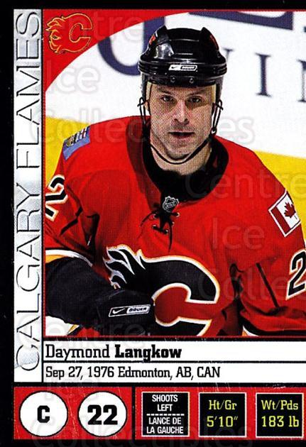2008-09 Panini Stickers #149 Daymond Langkow<br/>6 In Stock - $1.00 each - <a href=https://centericecollectibles.foxycart.com/cart?name=2008-09%20Panini%20Stickers%20%23149%20Daymond%20Langkow...&quantity_max=6&price=$1.00&code=224174 class=foxycart> Buy it now! </a>