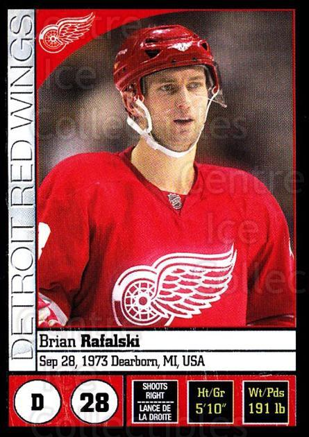 2008-09 Panini Stickers #195 Brian Rafalski<br/>4 In Stock - $1.00 each - <a href=https://centericecollectibles.foxycart.com/cart?name=2008-09%20Panini%20Stickers%20%23195%20Brian%20Rafalski...&quantity_max=4&price=$1.00&code=224220 class=foxycart> Buy it now! </a>