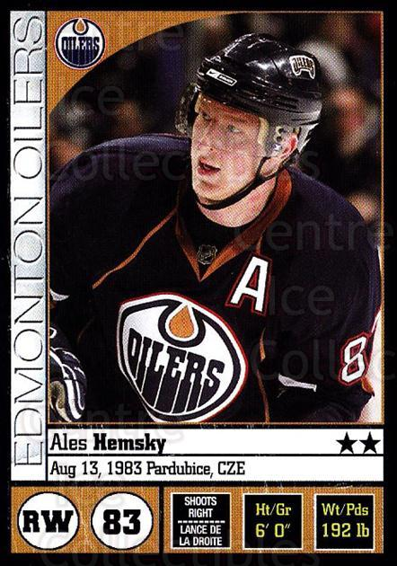 2008-09 Panini Stickers #205 Ales Hemsky<br/>7 In Stock - $1.00 each - <a href=https://centericecollectibles.foxycart.com/cart?name=2008-09%20Panini%20Stickers%20%23205%20Ales%20Hemsky...&quantity_max=7&price=$1.00&code=224230 class=foxycart> Buy it now! </a>