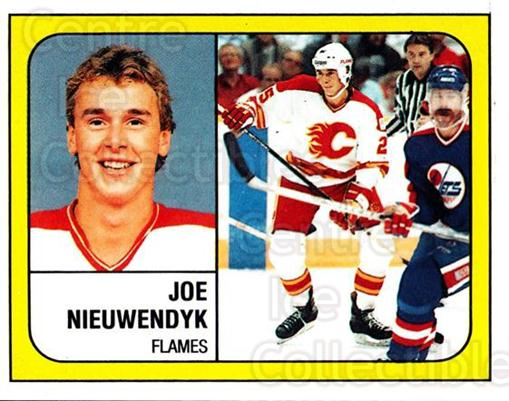 1988-89 Panini Stickers #12 Joe Nieuwendyk<br/>3 In Stock - $2.00 each - <a href=https://centericecollectibles.foxycart.com/cart?name=1988-89%20Panini%20Stickers%20%2312%20Joe%20Nieuwendyk...&quantity_max=3&price=$2.00&code=22425 class=foxycart> Buy it now! </a>