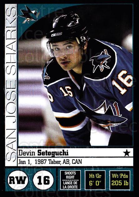 2008-09 Panini Stickers #252 Devin Setoguchi<br/>4 In Stock - $1.00 each - <a href=https://centericecollectibles.foxycart.com/cart?name=2008-09%20Panini%20Stickers%20%23252%20Devin%20Setoguchi...&quantity_max=4&price=$1.00&code=224277 class=foxycart> Buy it now! </a>