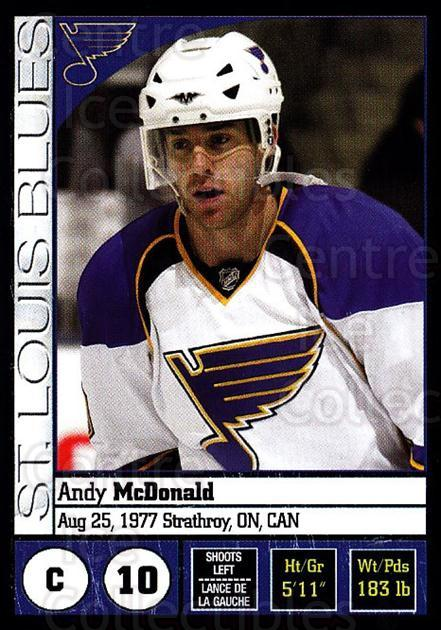 2008-09 Panini Stickers #256 Andy McDonald<br/>5 In Stock - $1.00 each - <a href=https://centericecollectibles.foxycart.com/cart?name=2008-09%20Panini%20Stickers%20%23256%20Andy%20McDonald...&quantity_max=5&price=$1.00&code=224281 class=foxycart> Buy it now! </a>
