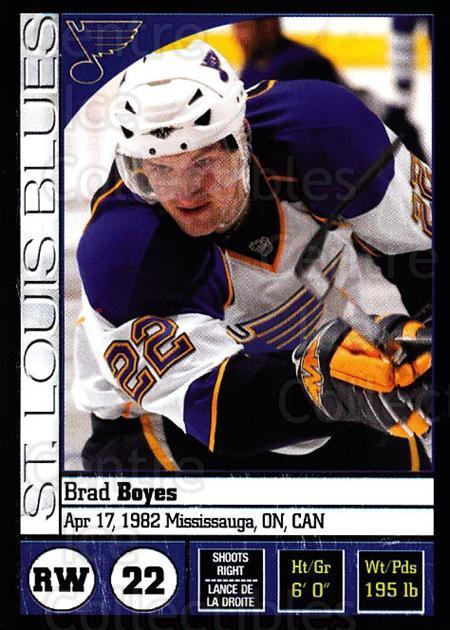 2008-09 Panini Stickers #257 Brad Boyes<br/>5 In Stock - $1.00 each - <a href=https://centericecollectibles.foxycart.com/cart?name=2008-09%20Panini%20Stickers%20%23257%20Brad%20Boyes...&quantity_max=5&price=$1.00&code=224282 class=foxycart> Buy it now! </a>