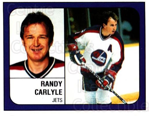 1988-89 Panini Stickers #149 Randy Carlyle<br/>5 In Stock - $1.00 each - <a href=https://centericecollectibles.foxycart.com/cart?name=1988-89%20Panini%20Stickers%20%23149%20Randy%20Carlyle...&quantity_max=5&price=$1.00&code=22454 class=foxycart> Buy it now! </a>