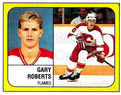 1988-89 Panini Stickers #15 Gary Roberts<br/>4 In Stock - $1.00 each - <a href=https://centericecollectibles.foxycart.com/cart?name=1988-89%20Panini%20Stickers%20%2315%20Gary%20Roberts...&quantity_max=4&price=$1.00&code=22455 class=foxycart> Buy it now! </a>