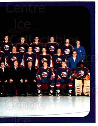1988-89 Panini Stickers #161 Winnipeg Jets, Team Photo<br/>3 In Stock - $1.00 each - <a href=https://centericecollectibles.foxycart.com/cart?name=1988-89%20Panini%20Stickers%20%23161%20Winnipeg%20Jets,%20...&price=$1.00&code=22468 class=foxycart> Buy it now! </a>