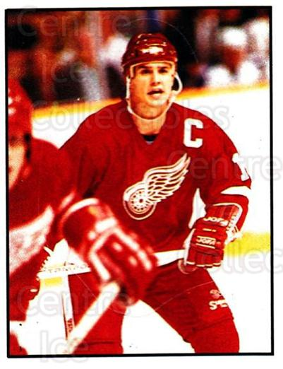1988-89 Panini Stickers #187 Steve Yzerman<br/>4 In Stock - $3.00 each - <a href=https://centericecollectibles.foxycart.com/cart?name=1988-89%20Panini%20Stickers%20%23187%20Steve%20Yzerman...&price=$3.00&code=22491 class=foxycart> Buy it now! </a>