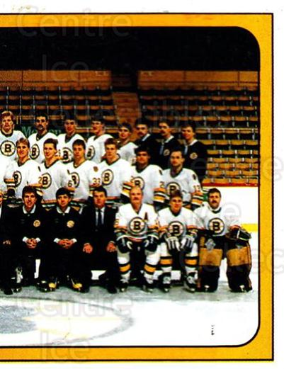 1988-89 Panini Stickers #216 Boston Bruins, Team Photo<br/>4 In Stock - $1.00 each - <a href=https://centericecollectibles.foxycart.com/cart?name=1988-89%20Panini%20Stickers%20%23216%20Boston%20Bruins,%20...&price=$1.00&code=22521 class=foxycart> Buy it now! </a>