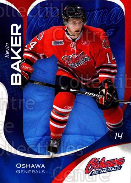 2007-08 Oshawa Generals #9 Kevin Baker<br/>12 In Stock - $3.00 each - <a href=https://centericecollectibles.foxycart.com/cart?name=2007-08%20Oshawa%20Generals%20%239%20Kevin%20Baker...&quantity_max=12&price=$3.00&code=225533 class=foxycart> Buy it now! </a>