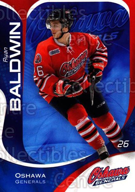 2007-08 Oshawa Generals #19 Ryan Baldwin<br/>12 In Stock - $3.00 each - <a href=https://centericecollectibles.foxycart.com/cart?name=2007-08%20Oshawa%20Generals%20%2319%20Ryan%20Baldwin...&quantity_max=12&price=$3.00&code=225542 class=foxycart> Buy it now! </a>