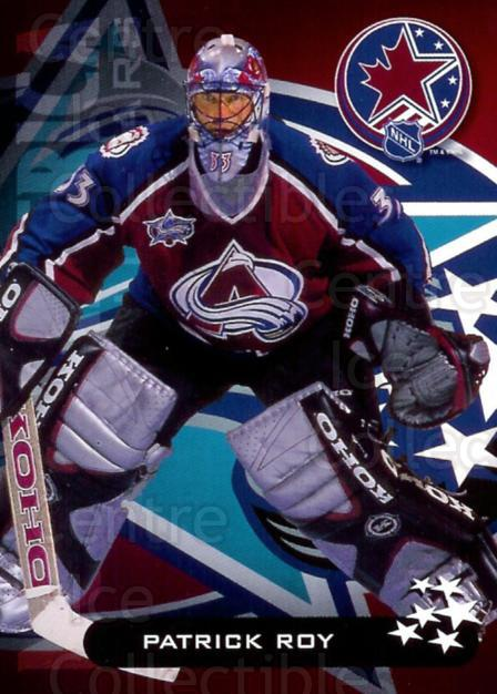 2001 Nortel All-Star Game Redemption #11 Patrick Roy<br/>5 In Stock - $5.00 each - <a href=https://centericecollectibles.foxycart.com/cart?name=2001%20Nortel%20All-Star%20Game%20Redemption%20%2311%20Patrick%20Roy...&price=$5.00&code=225985 class=foxycart> Buy it now! </a>