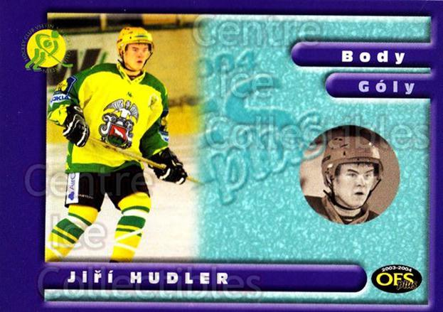 2003-04 Czech OFS Points Leaders #9 Jiri Hudler<br/>1 In Stock - $2.00 each - <a href=https://centericecollectibles.foxycart.com/cart?name=2003-04%20Czech%20OFS%20Points%20Leaders%20%239%20Jiri%20Hudler...&quantity_max=1&price=$2.00&code=226084 class=foxycart> Buy it now! </a>