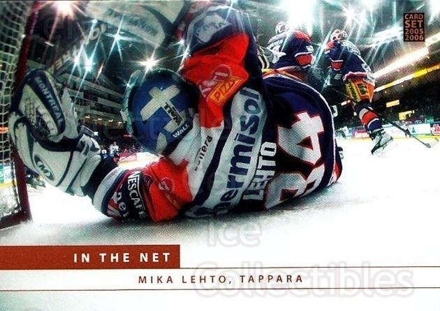 2005-06 Finnish Cardset In The Net #2 Mika Lehto<br/>3 In Stock - $3.00 each - <a href=https://centericecollectibles.foxycart.com/cart?name=2005-06%20Finnish%20Cardset%20In%20The%20Net%20%232%20Mika%20Lehto...&quantity_max=3&price=$3.00&code=226109 class=foxycart> Buy it now! </a>