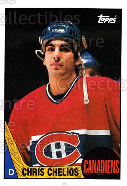 1987-88 Topps #106 Chris Chelios<br/>6 In Stock - $2.00 each - <a href=https://centericecollectibles.foxycart.com/cart?name=1987-88%20Topps%20%23106%20Chris%20Chelios...&quantity_max=6&price=$2.00&code=22644 class=foxycart> Buy it now! </a>