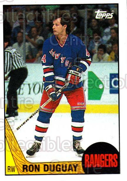 1987-88 Topps #110 Ron Duguay<br/>4 In Stock - $1.00 each - <a href=https://centericecollectibles.foxycart.com/cart?name=1987-88%20Topps%20%23110%20Ron%20Duguay...&quantity_max=4&price=$1.00&code=22649 class=foxycart> Buy it now! </a>