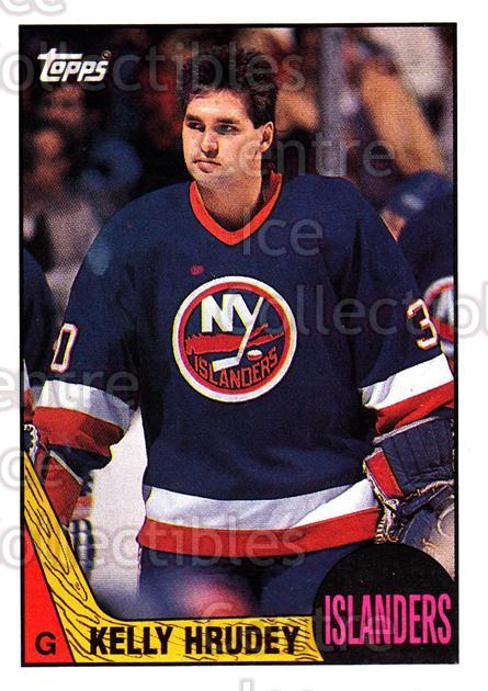 1987-88 Topps #119 Kelly Hrudey<br/>6 In Stock - $1.00 each - <a href=https://centericecollectibles.foxycart.com/cart?name=1987-88%20Topps%20%23119%20Kelly%20Hrudey...&quantity_max=6&price=$1.00&code=22658 class=foxycart> Buy it now! </a>