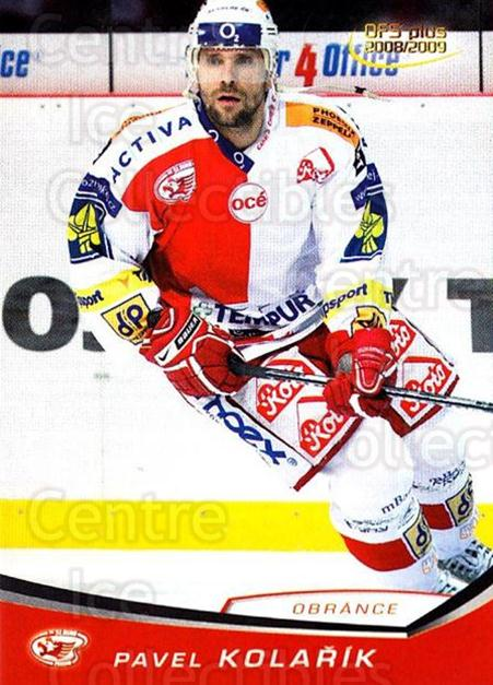 2008-09 Czech OFS #291 Pavel Kolarik<br/>4 In Stock - $2.00 each - <a href=https://centericecollectibles.foxycart.com/cart?name=2008-09%20Czech%20OFS%20%23291%20Pavel%20Kolarik...&price=$2.00&code=226638 class=foxycart> Buy it now! </a>