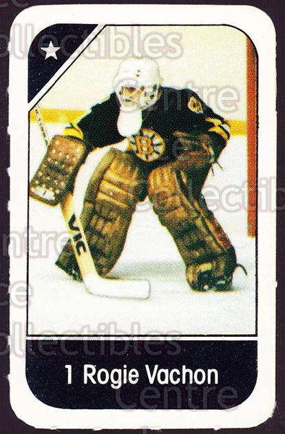 1982-83 Post Cereal #1 Rogie Vachon<br/>1 In Stock - $3.00 each - <a href=https://centericecollectibles.foxycart.com/cart?name=1982-83%20Post%20Cereal%20%231%20Rogie%20Vachon...&quantity_max=1&price=$3.00&code=226784 class=foxycart> Buy it now! </a>