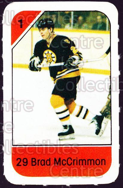 1982-83 Post Cereal #14 Brad McCrimmon<br/>3 In Stock - $2.00 each - <a href=https://centericecollectibles.foxycart.com/cart?name=1982-83%20Post%20Cereal%20%2314%20Brad%20McCrimmon...&quantity_max=3&price=$2.00&code=226797 class=foxycart> Buy it now! </a>