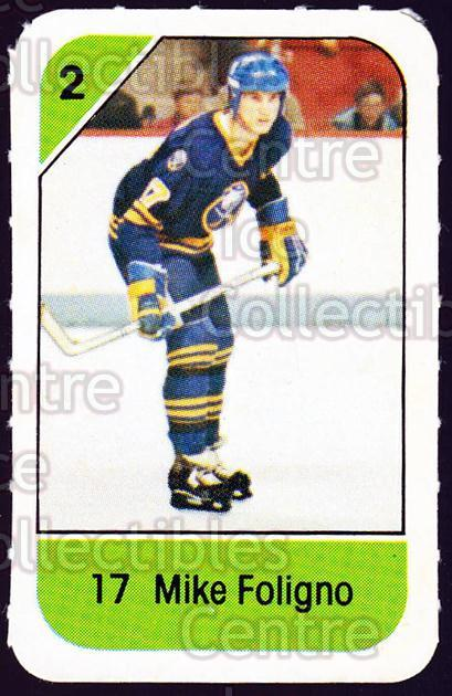 1982-83 Post Cereal #28 Mike Foligno<br/>4 In Stock - $2.00 each - <a href=https://centericecollectibles.foxycart.com/cart?name=1982-83%20Post%20Cereal%20%2328%20Mike%20Foligno...&quantity_max=4&price=$2.00&code=226811 class=foxycart> Buy it now! </a>