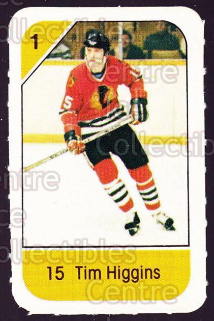 1982-83 Post Cereal #55 Tim Higgins<br/>7 In Stock - $2.00 each - <a href=https://centericecollectibles.foxycart.com/cart?name=1982-83%20Post%20Cereal%20%2355%20Tim%20Higgins...&quantity_max=7&price=$2.00&code=226838 class=foxycart> Buy it now! </a>