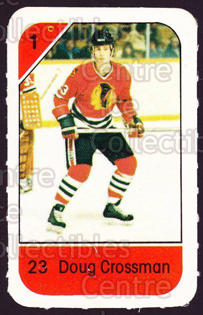 1982-83 Post Cereal #60 Doug Crossman<br/>5 In Stock - $2.00 each - <a href=https://centericecollectibles.foxycart.com/cart?name=1982-83%20Post%20Cereal%20%2360%20Doug%20Crossman...&quantity_max=5&price=$2.00&code=226843 class=foxycart> Buy it now! </a>